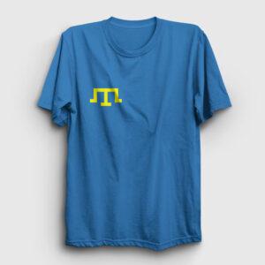 Kırım Tatar Bayrağı Tişört açık mavi