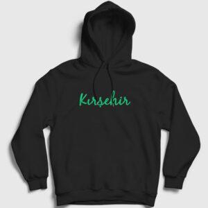 Kırşehir Kapşonlu Sweatshirt siyah