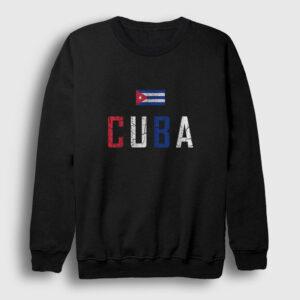 Küba Sweatshirt siyah