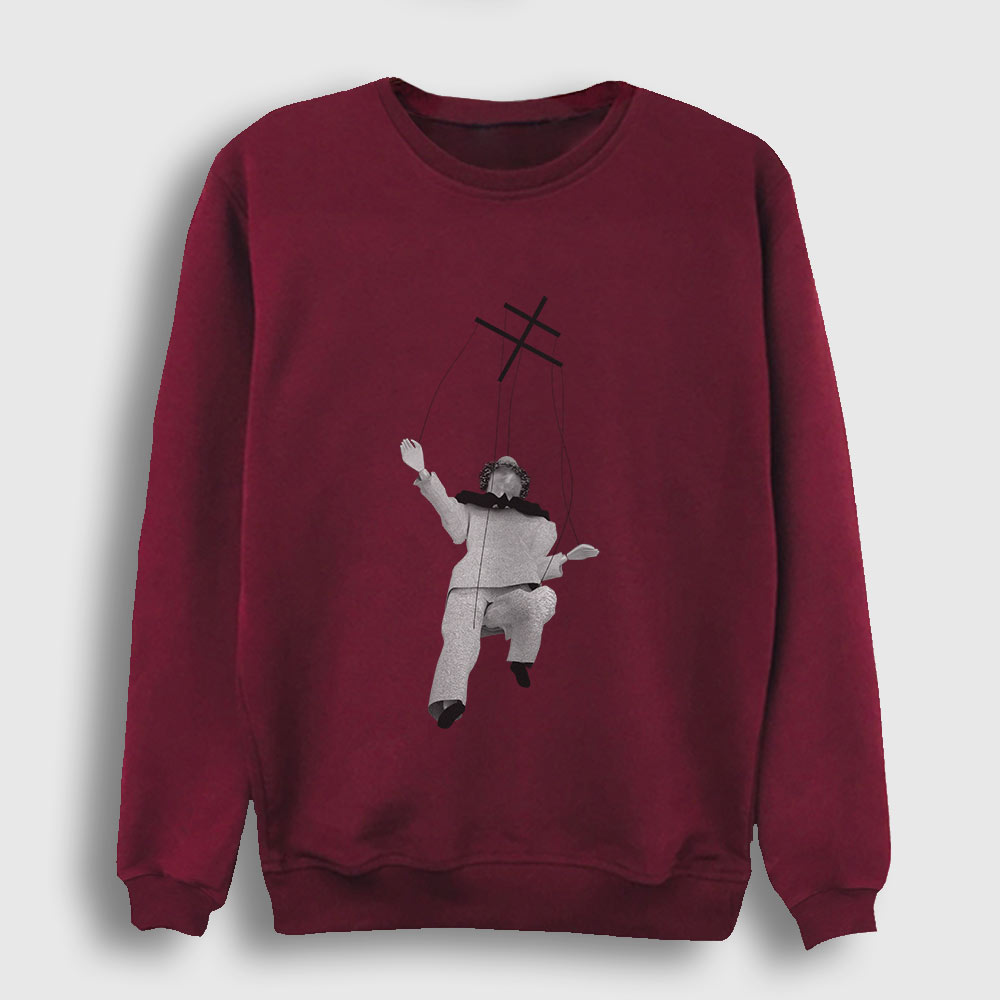 Kukla Sweatshirt bordo