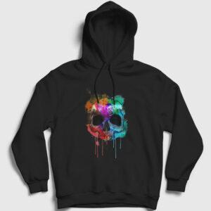 Kurukafa ve Renkler Kapşonlu Sweatshirt siyah