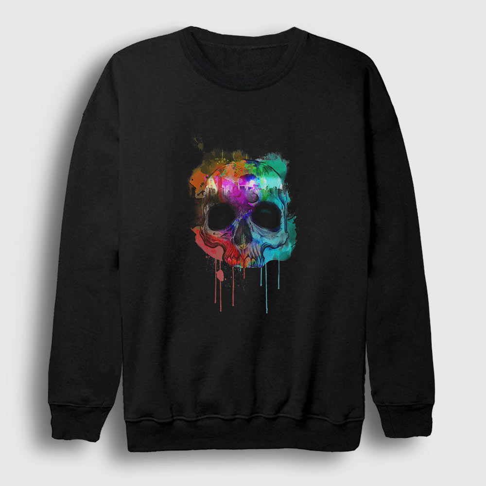 Kurukafa ve Renkler Sweatshirt siyah