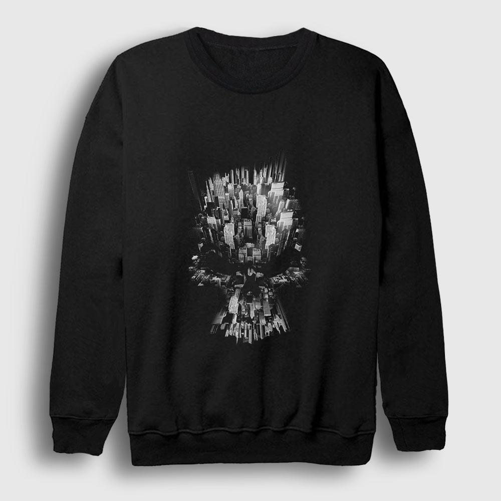 Kurukafa ve Şehir Sweatshirt siyah