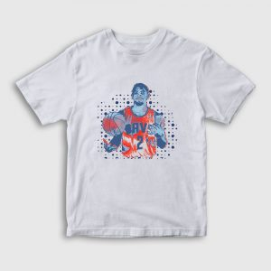 Kyrie Irving Çocuk Tişört beyaz