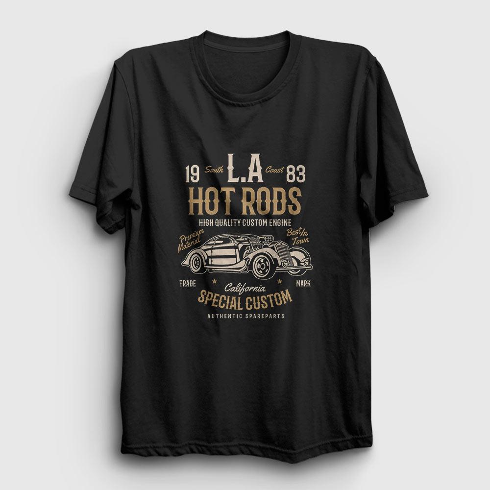 La Hot Rods Tişört siyah