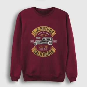 La Hotrod California Sweatshirt bordo