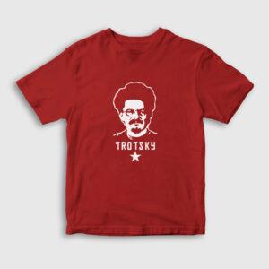 Leon Trotsky Çocuk Tişört kırmızı