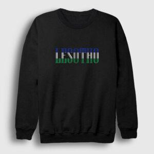 Lesotho Sweatshirt siyah