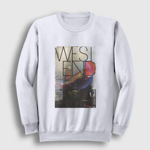 Londra Sweatshirt - West end beyaz