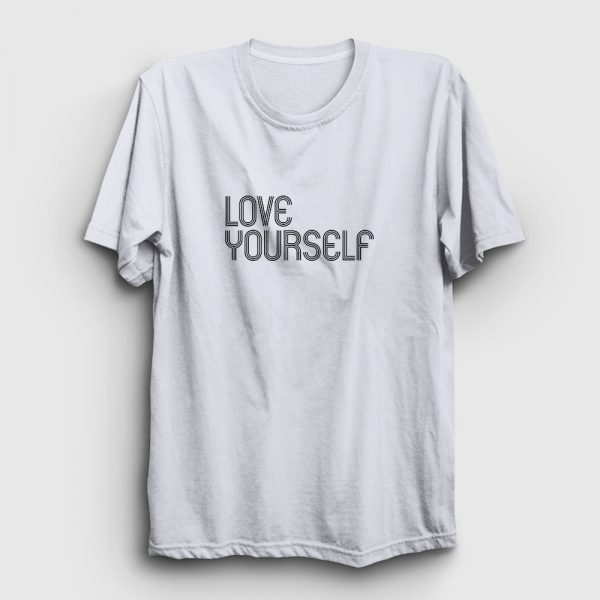 Love Yourself Tişört beyaz