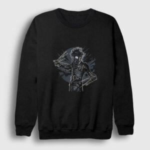 Makas Eller Sweatshirt siyah