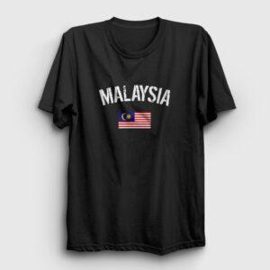 Malezya Tişört siyah
