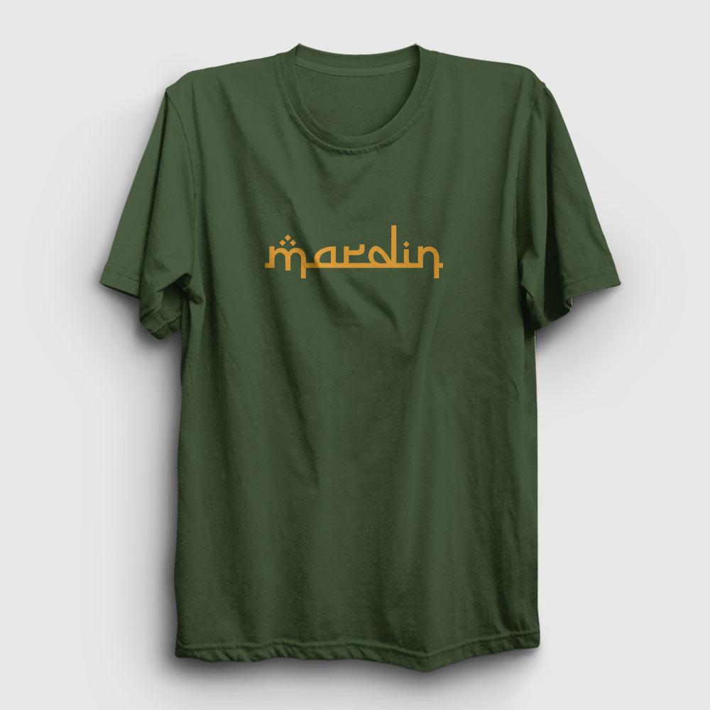 mardin tişört haki