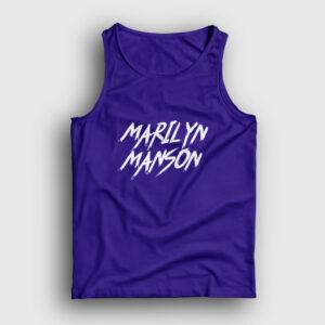 Marilyn Manson Atlet lacivert