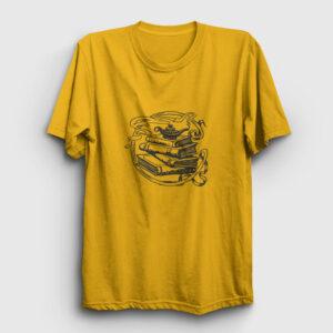 Masal Kitapları Tişört sarı