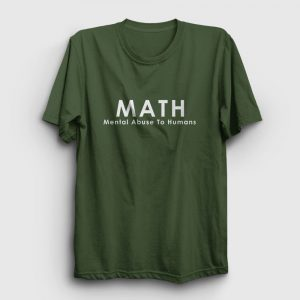 Math Tişört haki