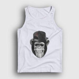 Maymun Atlet beyaz