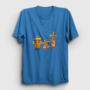 Meksikalı Çalgıcılar Tişört açık mavi