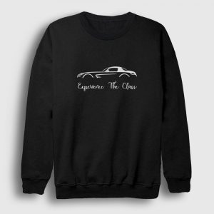 Mercedes Sweatshirt - Experience The Class siyah