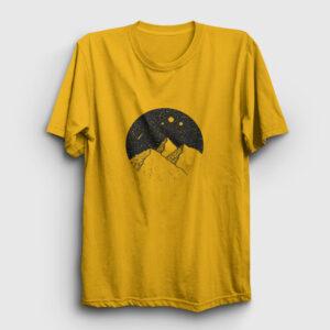 Meteor Yağmuru Tişört sarı