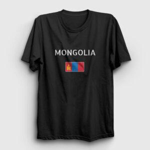 Moğolistan Tişört siyah
