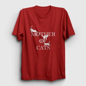 Mother Of Cats Tişört kırmızı
