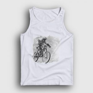 Motocross Atlet beyaz
