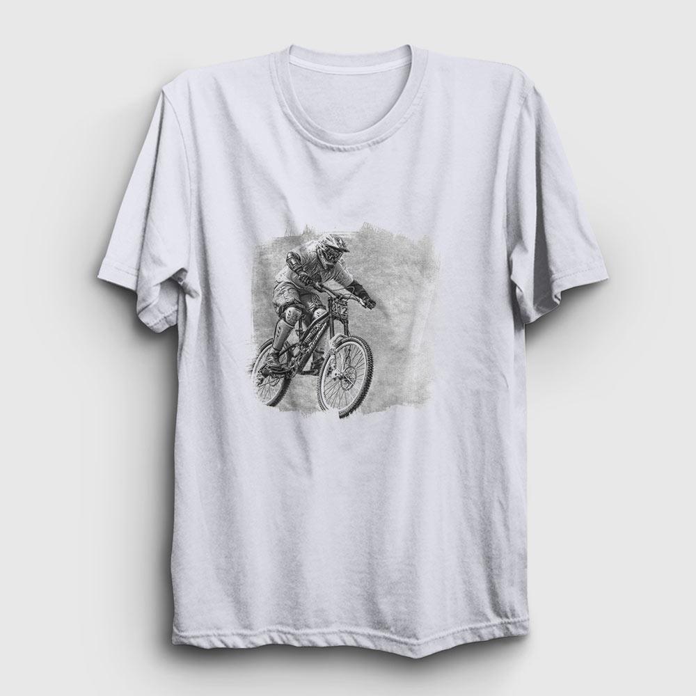 motocross tişört beyaz