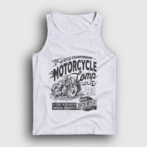 Motorcycle Camp Atlet beyaz
