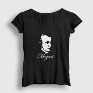 Mozart Kadın Tişört siyah