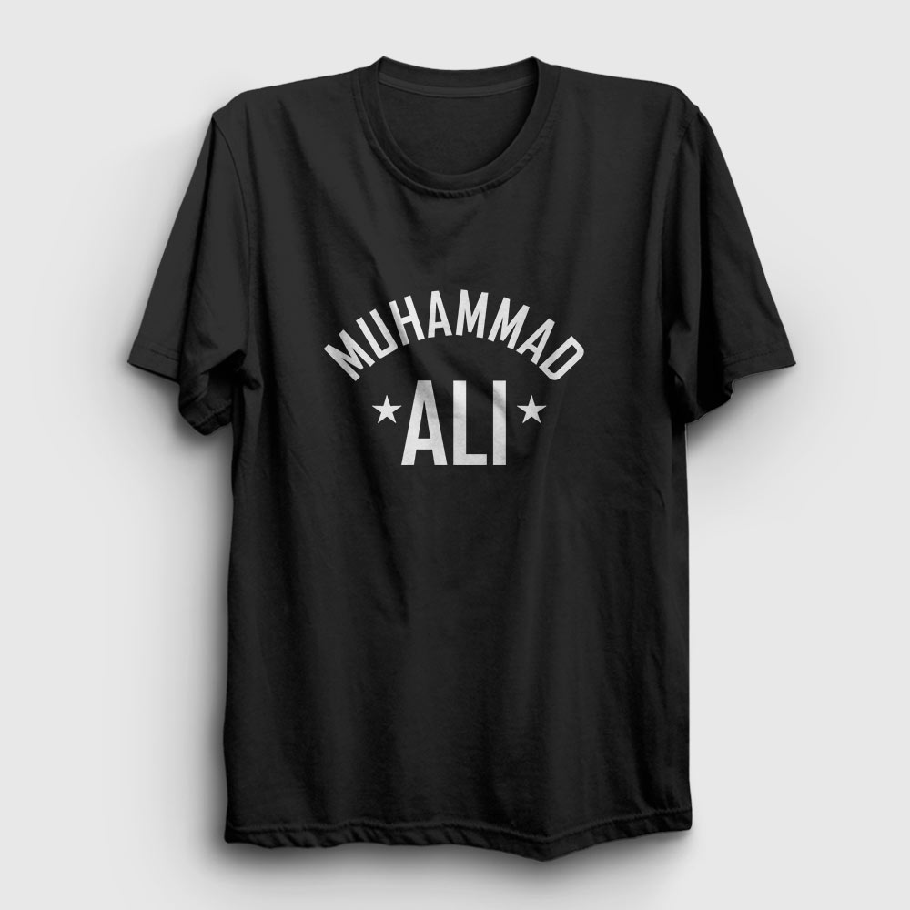 Muhammed Ali Tişört siyah