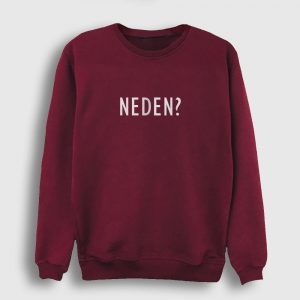 Neden Sweatshirt bordo