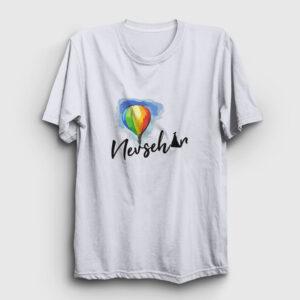 Nevşehir Tişört beyaz