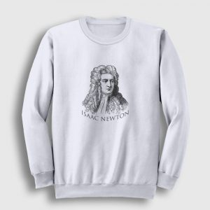Newton Sweatshirt beyaz