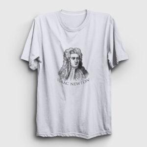 Newton Tişört beyaz