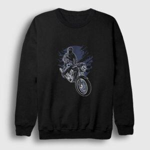 Night Rider Sweatshirt siyah