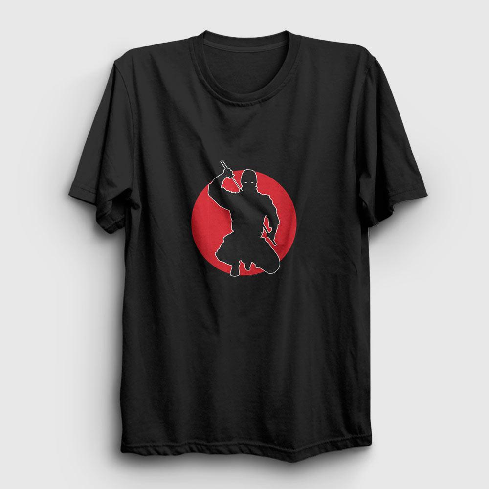 ninja tişört siyah