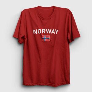 Norveç Tişört kırmızı