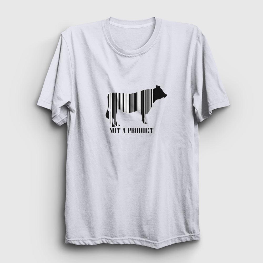 not a product tişört beyaz