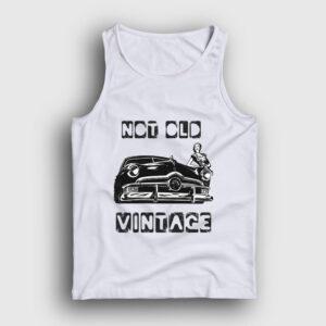 Not Old Vintage Atlet beyaz