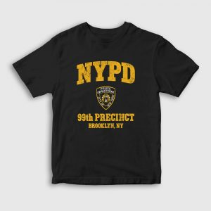 NYPD Brooklyn Çocuk Tişört siyah