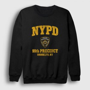 NYPD Brooklyn Sweatshirt siyah
