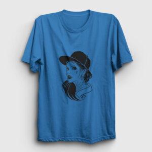 Örümcek Kız Tişört açık mavi