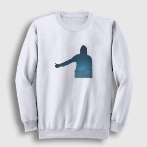 Otostop Sweatshirt beyaz