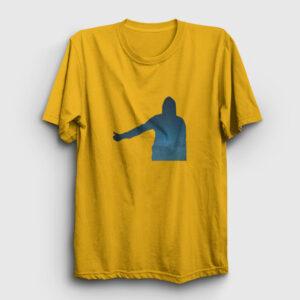 Otostop Tişört sarı