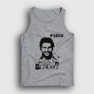 Pablo Escobar Atlet gri kırçıllı