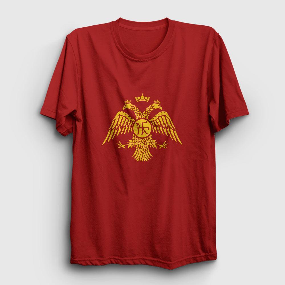 paleologos tişört kırmızı