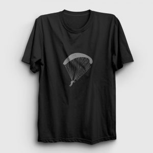Paragliding Tişört siyah