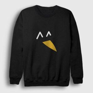 Penguen Sweatshirt siyah