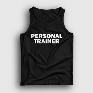 Personal Trainer Front Atlet siyah